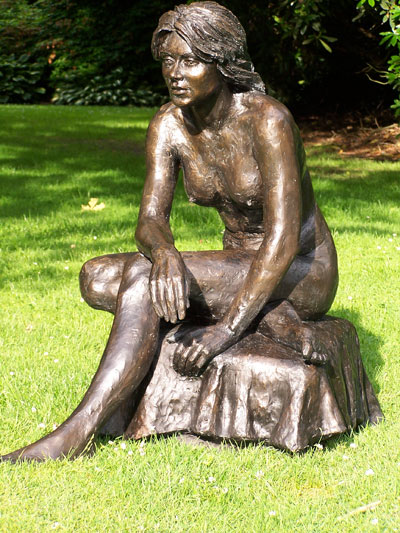 Limited Editions: Suzanne, bronze resin, 89hx92wx96d cms. £1950